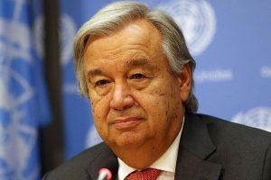 الأمين العام للامم المتحدة يطالب السلطات الإيرانية بعدم التعرض للتظاهرات السلمية