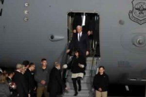 نائب الرئيس الأمريكي يلتقي بنتنياهو ويلقي خطابا أمام أعضاء الكنيست الإسرائيلي
