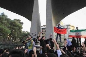 ارتفاع قتلى المظاهرات والاحتجاجات الإيرانية الليلة الماضية إلى اثني عشر شخصا