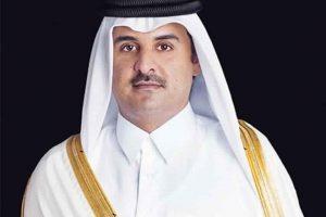 الأمير تميم بن حمد يبعث ببرقية عزاء في وفاة والدة الشيخ خليفة بن زايد