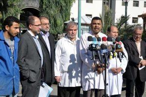 وزارة الصحة في غزة تتهم الاحتلال الإسرائيلي باستهداف الفلسطينيين بالرصاص الحي بشكل مباشر