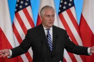 وزير الخارجية الأمريكي يلمح لفرض عقوبات على روسيا حال تدخلها في الانتخابات التشريعية المقبلة