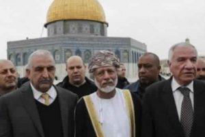 وزير الخارجية العماني يزور الحرم القدسي دون التنسيق مع سلطات الإحتلال الإسرائيلي