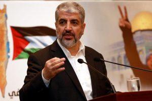 خالد مشعل يطالب دول العالم بالتحرك ضد تنفيذ قرار نقل السفارة الأمريكية إلى القدس