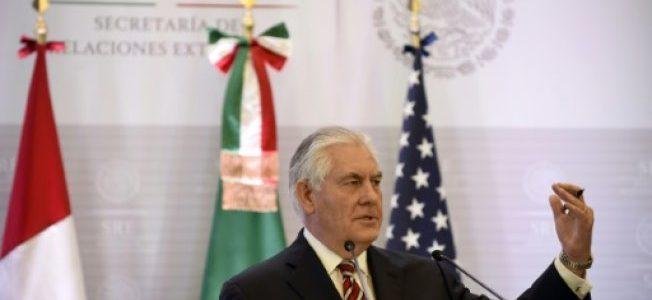 وزيري خارجية الولايات المتحدة والمكسيك يتفقان على تعزيز مكافحة تهريب المخدرات بين البلدين