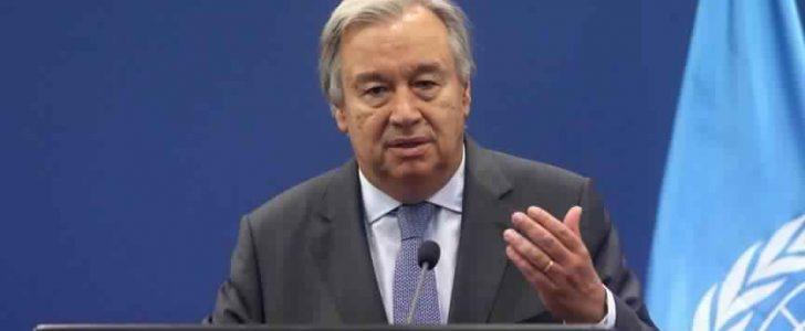 الأمين العام للأمم المتحدة يدعو النظام السوري وإسرائيل إلى ضبط النفس وعدم التصعيد