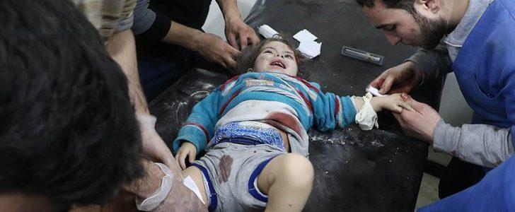 مقاتلات النظام السوري تستهدف الغوطة الشرقية بقنابل النابالم المحرمة دوليا