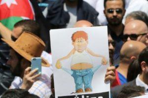 الأردن تشهد مشاركة واسعة في الإضراب الذي دعت إليه النقابات العمالية اعتراضا على ضريبة الدخل