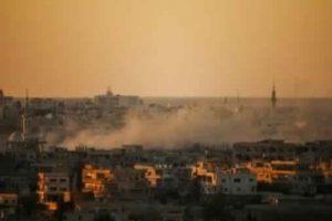 استمرار هجمات النظام السوري الوحشية ضد درعا لليوم التاسع على التوالي