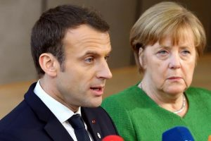 ميركل وماكرون يتفقا في برلين على ضخ خطة استثمارية كبرى في أوروبا