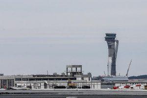 طائرة الرئيس التركي أردوغان تقوم بأول عملية هبوط داخل مطار اسطنبول الدولي الثالث