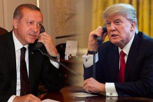 ترامب يجري اتصالا بالرئيس التركي رجب طيب أردوغان لتهنئته بالفوز في الانتخابات التركية