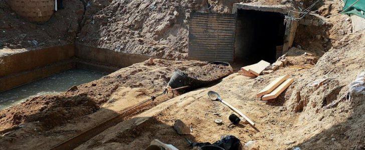 جيش الاحتلال يكشف عن تدمير نفق بحري تابع للقوة البحرية بحركة حماس شمالي قطاع غزة