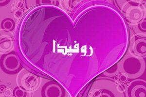 معنى اسم روفيدا في اللغة العربية