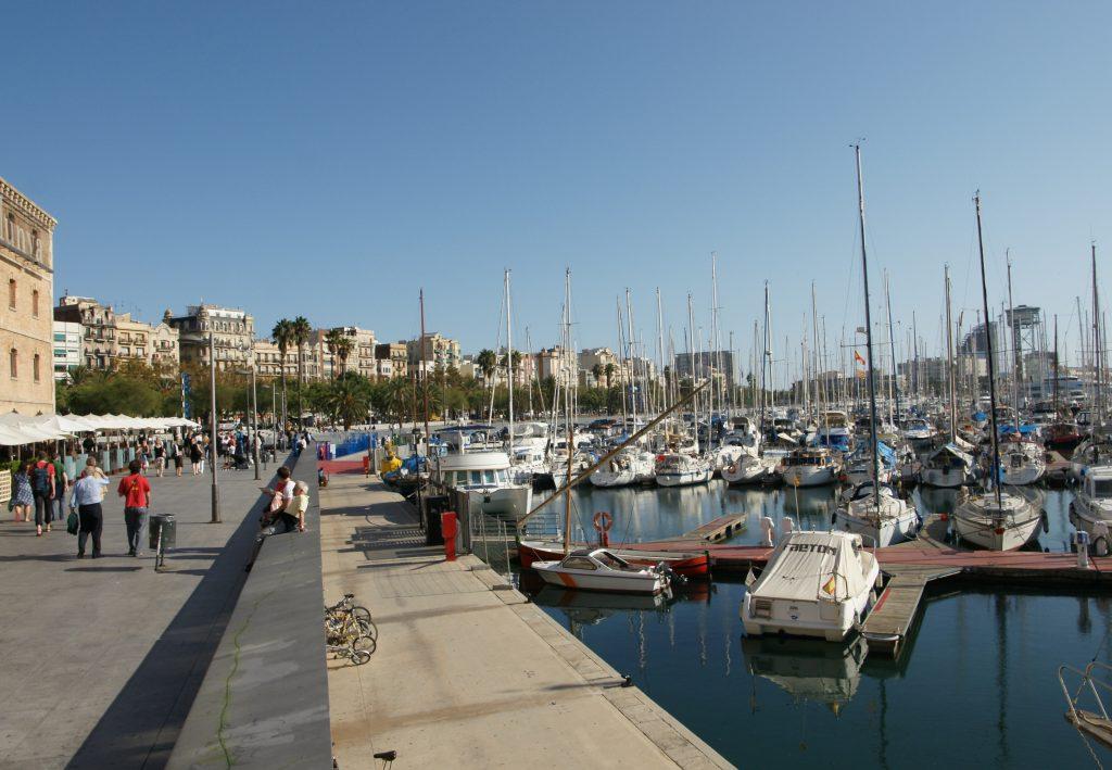 منطقة ميناء برشلونة