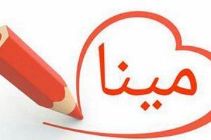 معنى اسم مينا في اللغة العربية
