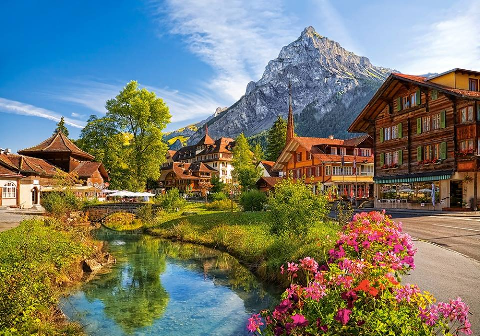 رحلة إلى سويسرا