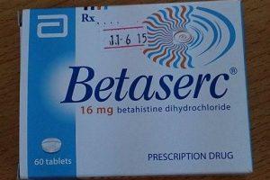 أقراص بيتاسيرك betaserc 16 mg لعلاج فقدان التوازن وطنين الاذن