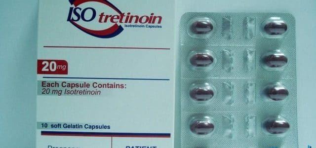 إيزوتريتينوين لعلاج حبّ الشباب Isotretinoin