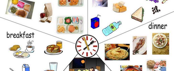 الغذاء في المدارس للأطفال والوجبات المدرسية
