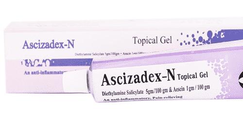 جيل أسي زادكس إن Ascizadex لعلاج الكدمات والتورمات