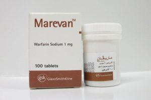 أقراص ماريفان Marevan المضادة لتجلط الدم