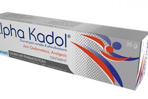 ألفا كادول Alpha Kadol مرهم لعلاج التورم والكدمات