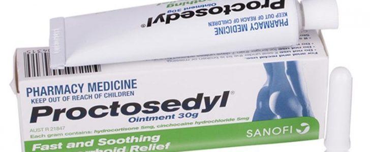 بروكتوسيديل Proctosedyl لعلاج البواسير