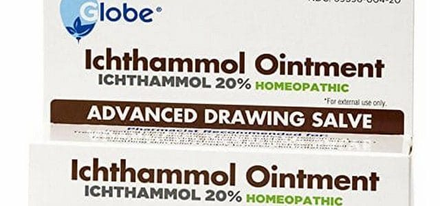 كريم إكثامول Ichthammol لعلاج الالتهابات والحبوب والدمامل