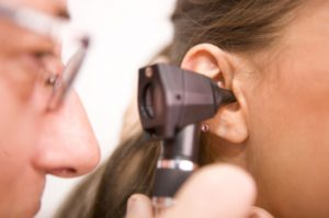 التهاب الأذن الظاهرة