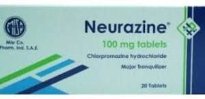 نيورازين neurazine دواعي الاستعمال وأعراضه الجانبية