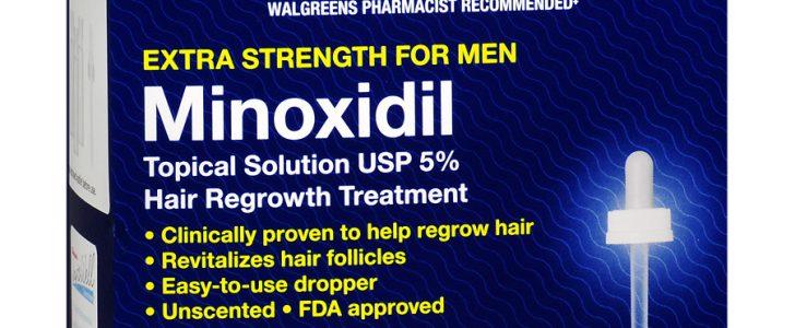 عقار مينوكسيديل Minoxidil لعلاج تساقط الشعر