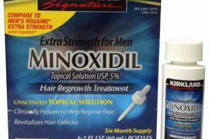 مينوكسيديل Minoxidil لعلاج تساقط الشعر