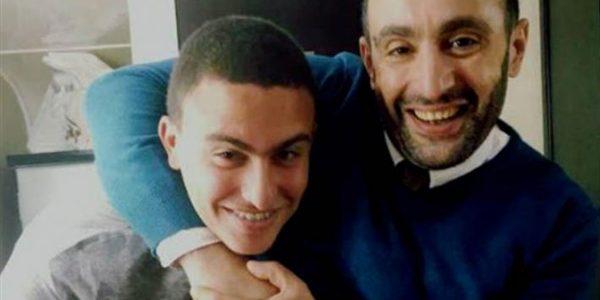 """""""أحمد السقا الصغير"""".. تعليق الجمهور بعد انتشار صور ابن أحمد السقا في حفل تخرجه"""