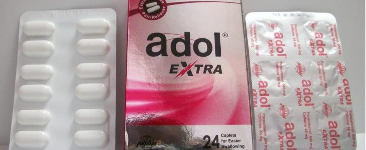 نشرة أقراص ادول إكسترا Adol Extra خافض للحرارة