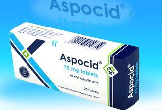نشرة أقراص اسبوسيد Aspocid مسكن للألم