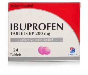 أقراص أيبوبروفين Ibuprofen لعلاج الامراض العصبية والحمى