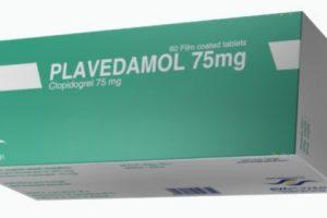نشرة أقراص بلافيدامول  Plavedamol لعلاج تصلب الشرايين