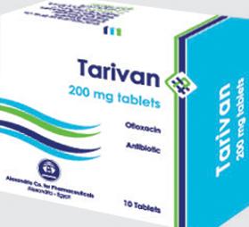 نشره أقراص تاريفان Tarivan مضاد حيوي