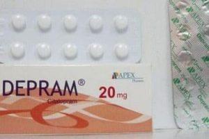 نشرة أقراص ديبرام Depram لعلاج لعلاج حالات الاكتئاب القوية