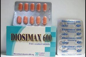 نشرة أقراص ديوسيماكس Diosimax يعالج البواسير والاوعية الدموية