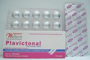 نشرة أقراص بلافيكتونال plavictonal لعلاج نوبات القلب