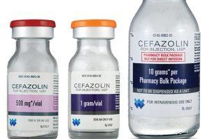 نشرة حقن سيفازولين Cefazolin يعالج البكتيريا
