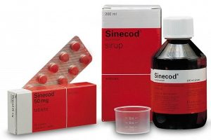 نشرة شراب سينيكود Sinecod