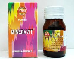 نشره شراب مينرافيت Mineravit يستخدم كفيتامينات