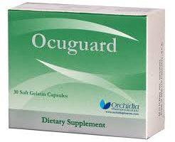 نشرة كبسول اوكيوجارد Ocuguard مكمل غذائي