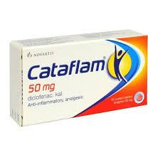 نشرة أقراص كتافلام cataflam علاج عام لتخفيف الآلام