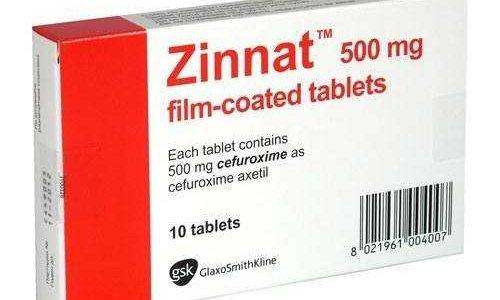 نشرة أقراص زينات Zinnat علاج البكتريا بنوعيها