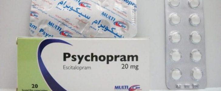نشرة أقراص سيكوبرام Psychopram لعلاج الاكتئاب
