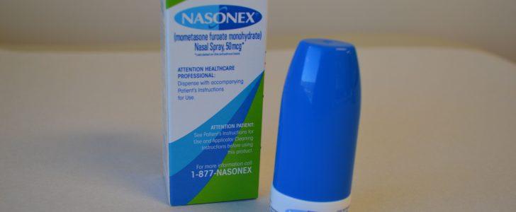 نشرة بخاخ نازونكس Nasonex يعالج التهابات الجيوب الأنفية